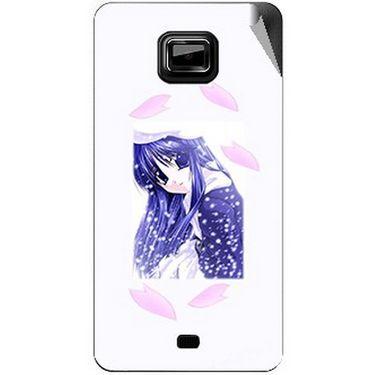Snooky 46127 Digital Print Mobile Skin Sticker For Micromax Ninja A91 - White