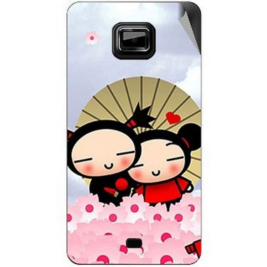 Snooky 46132 Digital Print Mobile Skin Sticker For Micromax Ninja A91 - Multicolour
