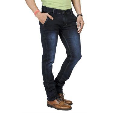 Pack of 2 Blended Cotton Slim Fit Jeans_106061 - Blue