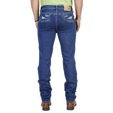 Pack of 3 Blended Cotton Slim Fit Jeans_50231011 - Blue & Black