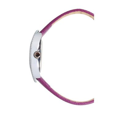 Exotica Fashions Analog Oval Dial Watch For Women_Efl8w74 - Purple