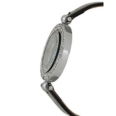Exotica Fashions Analog Round Dial Watch For Women_Efl18w18 - White & Grey