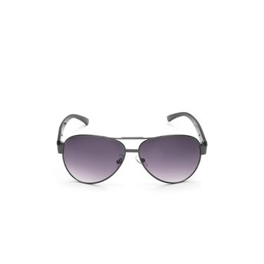 Alee Metal Oval Unisex Sunglasses_149 - Purple