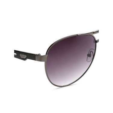 Alee Metal Oval Unisex Sunglasses_160 - Purple