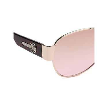 Alee Metal Oval Unisex Sunglasses_164 - Pink