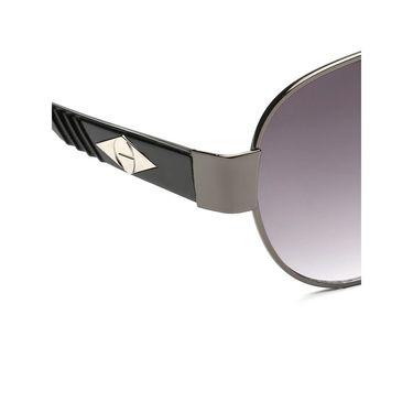 Alee Metal Oval Unisex Sunglasses_171 - Purple