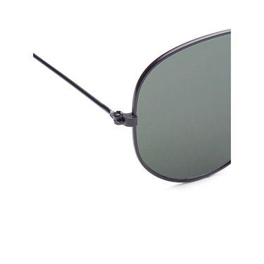 Alee Metal Oval Unisex Sunglasses_181 - Grey