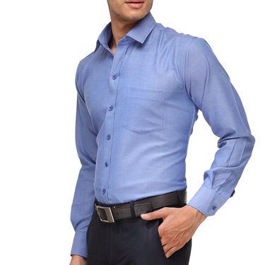 Rico Sordi Full Sleeves Plain Shirt_R018f - Blue