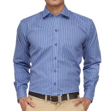 Rico Sordi Full Sleeves Stripes Shirt_R019f - Blue