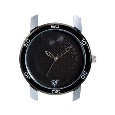 Rico Sordi Analog Round Dial Watch_Rws57 - Black