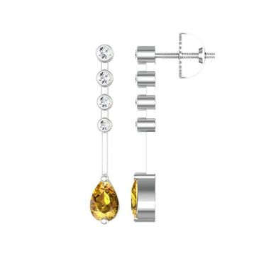 Ag Real Diamond Jaya Earrings_Agge019w
