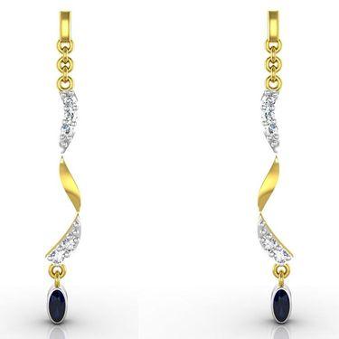 Ag Real Diamond Deepika Earrings_Agse0083y