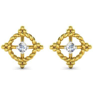 Ag Real Diamond Sachi Earrings_Agse0164y