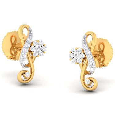 Kiara Sterling Silver Lata Earrings_5476e