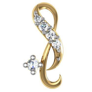 Avsar Real Gold and Swarovski Stone Jaipur Earrings_Ave0118yb