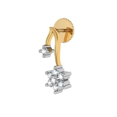 Avsar Real Gold and Swarovski Stone Pooja Earrings_Ave0154yb