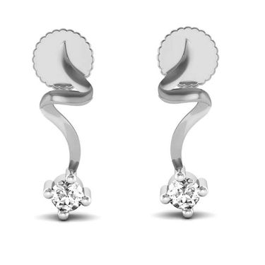 Avsar Real Gold and Swarovski Stone Nagpur Earrings_Uqe007wb