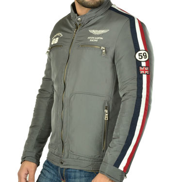 Branded Quilted Leather Jacket_Os21