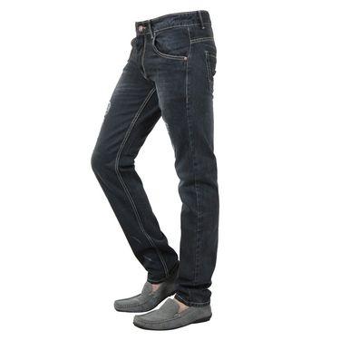 Branded Cotton Regular Fit Jeans_Jjb - Black