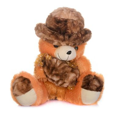 Kaku Teddy with Holding Toffi with Adorable Cap_DKK-19 B