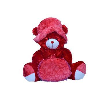 Kaku Sweetpie Teddy with Cap & Loveble Gift_DKK-26
