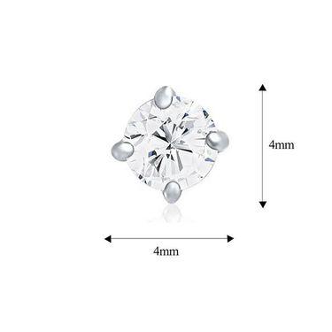 Mahi Rhodium Plated Swarovski Zirconia Pendant Set_Nl1105027r