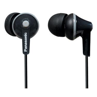 Panasonic In Ear Earphones with Mic RP-TCM125E-K