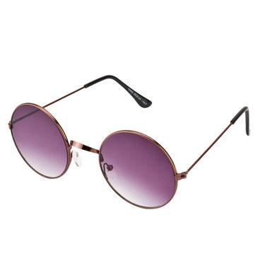 Mango People Metal Unisex Sunglasses_Mp10800br02 - Black & Brown