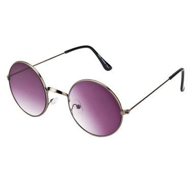 Mango People Metal Unisex Sunglasses_Mp10800gry - Black & Gray