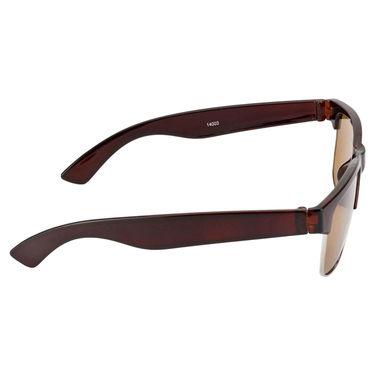 Mango People Plastic Unisex Sunglasses_Mp14003br - Brown