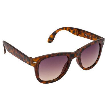 Mango People Plastic Unisex Sunglasses_Mp20156btr - Brown