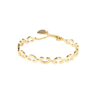 Swiss Design Stylish Bracelets_Sdjb02 - Golden
