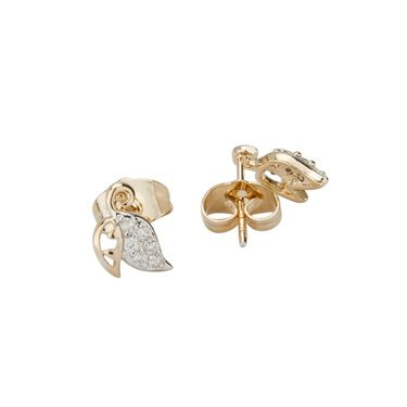 Swiss Design Swaroski Pendant Set_Sdjs05 - Silver & Golden