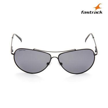 Fastrack 100% UV Protection Sunglasses For Men_M068bk8p  - Black