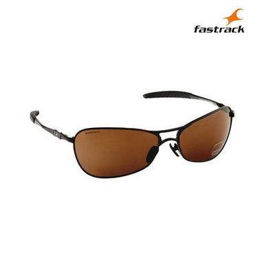 Fastrack 100% UV Protection Sunglasses For Men_M080br3 - Brown
