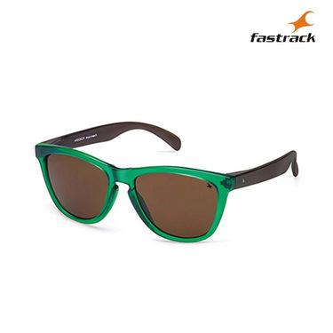 Fastrack 100% UV Protection Sunglasses For Women_Pc003br4  - Green & Black