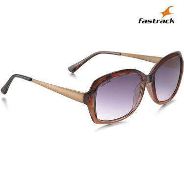 Fastrack 100% UV Protection Sunglasses For Women_P324bk3f - Purple