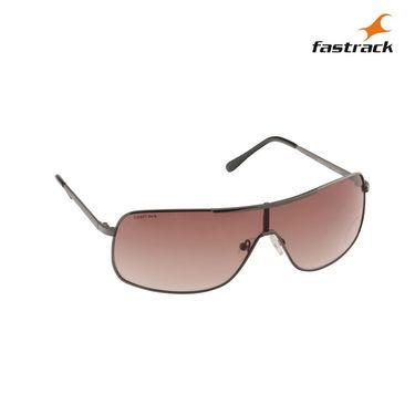 Fastrack 100% UV Protection Sunglasses For Men_M126br2 - Brown