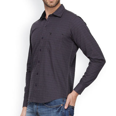 Crosscreek Cotton Casual Shirt_1030305 - Grey