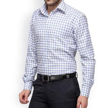 Copperline Cotton Rich Formal Shirt_CPL1154 - White Yellow