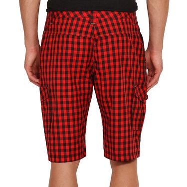 Wajbee Cotton Cargo Short For Men_Wma103 - Multicolor