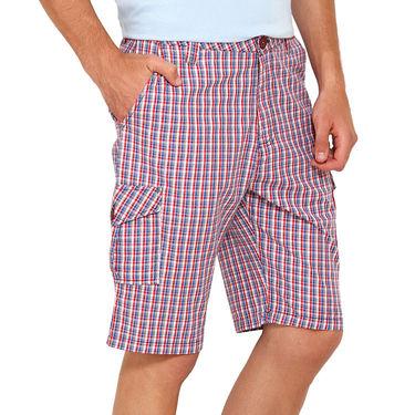 Wajbee Cotton Cargo Short For Men_Wma108 - Multicolor