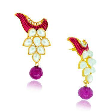 Spargz Designer Earring_Aier418 - Multicolor