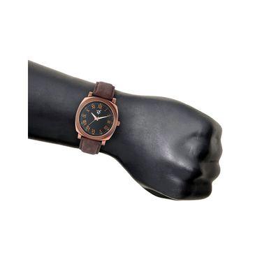Rico Sordi Analog Round Dial Watch For Men_Rsmwl96 - Black