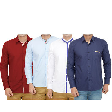 Pack of 4 Casual Shirts For Men_18192021