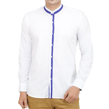 Branded Casual Shirt For Men_Whp021 - White