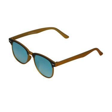 Swiss Design Wayfarer Plastic Sunglasses For Unisex_S18276gd - Golden