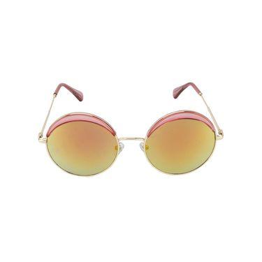 Swiss Design Full Rim Plastic Sunglass For Unisex_S8019pr - Mercury Yellow