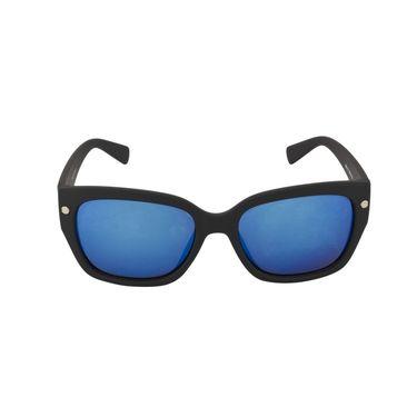 Swiss Design Full Rim Plastic Sunglasses For Unisex_S89215bk - Purple