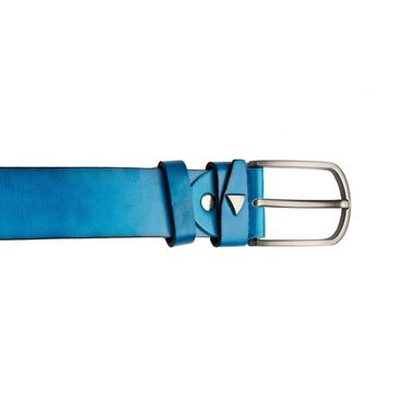 Swiss Design Leatherite Casual Belt For Men_Sd03bl - Blue